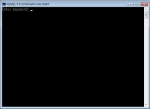 MySQLコマンドライン01