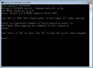 MySQLコマンドライン02