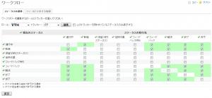 Redmine_チケットステータス追加2